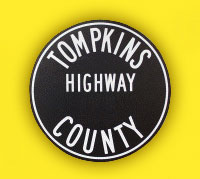 Tompkins County Highway Department logo