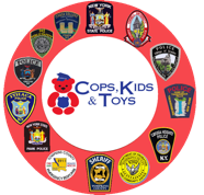 Cops Kids and Toys Logo