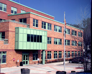 Photo of County Youth Services Depatment building
